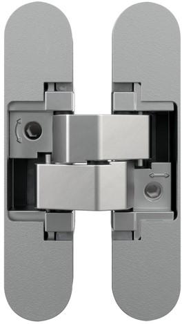 Anselmi zelfsluitend scharnier AN 107 C60 - Chroom mat