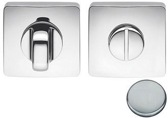 Colombo Design PT19BZG6 - Toiletgarnituur vierkant afgerond - Mat chroom