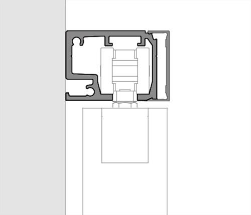 ROB Cube bovenrail 80 kg