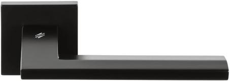Deurkruk Electra - Zwart mat