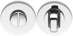 Colombo Design FF19BZG - Toiletgarnituur rond 6.5mm - Chroom glanzend