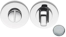 Colombo Design FF19BZG - Toiletgarnituur rond 6.5mm - Chroom mat