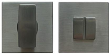 Colombo Design MM29BZG- Toiletrozet vierkant - Grafiet mat