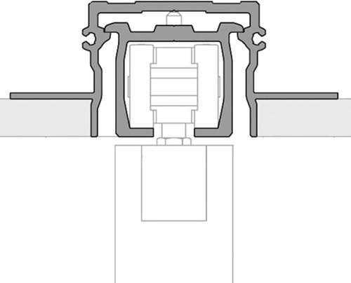 ROB Hide bovenrail 120 kg