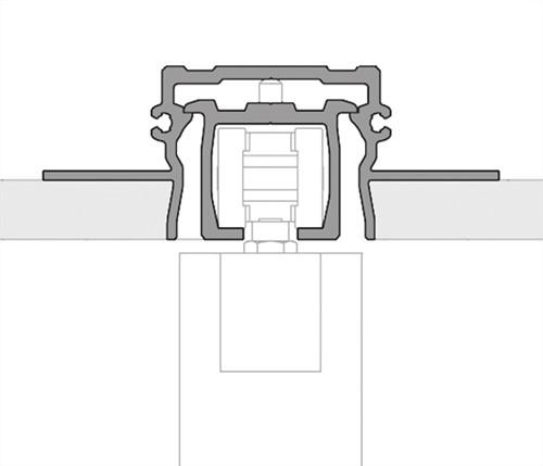 ROB Hide bovenrail 80 kg