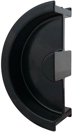 I-3250 schuifdeurgreep zwart