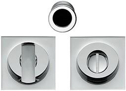 Colombo Design OpenSQ Flush toiletgarnituur - Chroom glanzend