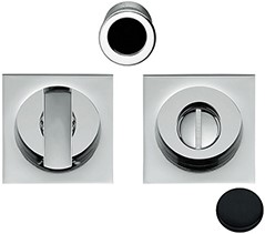 Toiletgarnituur OpenSQ Flush - mat zwart / vierkant
