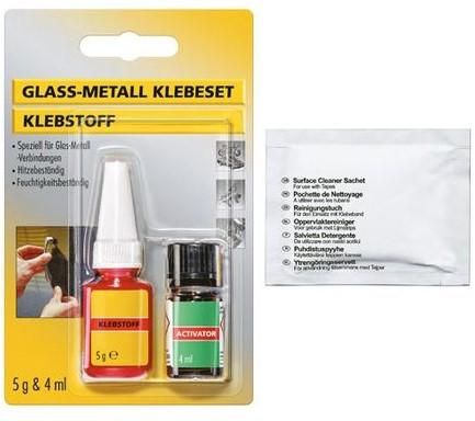 Bevestigingskit voor KC 50 glazen deur