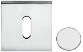 Colombo Design MM13BB - Baardrozet vierkant - Wit mat