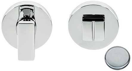 Colombo Design MF19BZG - Toiletgarnituur rond - Chroom mat
