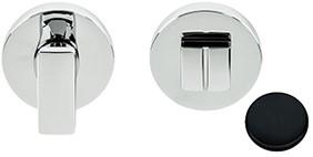 Colombo Design MF19BZG - Toiletgarnituur rond -Grafiet mat