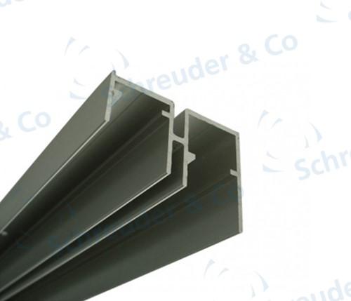 Dubbele onderrail - 2 meter (0920/2/200)