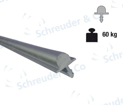 Onderrail - 2 meter (0100/1a)