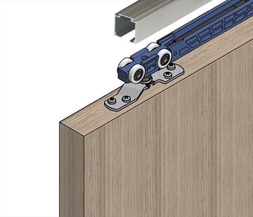 ROB Totaalset Expert 80 kg met softclose en rail 2,0 m