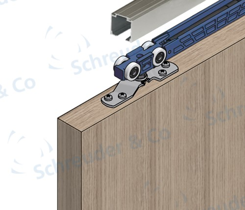 ROB Totaalset Expert 80 kg met softclose en rail 3,0 m