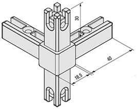 Smartcube 4-punts verbinding
