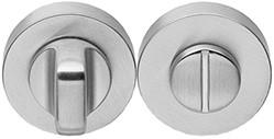 Colombo Design CD49BZG6G - Toiletrozet rond - Mat chroom