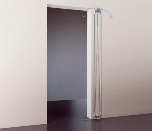 Tricks schuifdeursysteem rail en frame - deuropening max. 1200 x 2450 mm