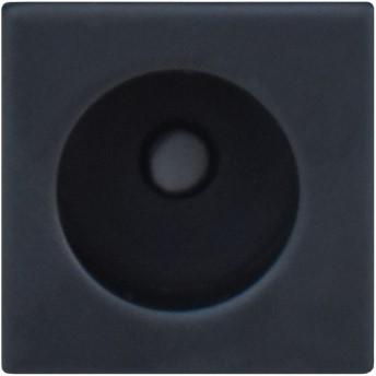 Vierkante vingerkom - Kosmos zwart
