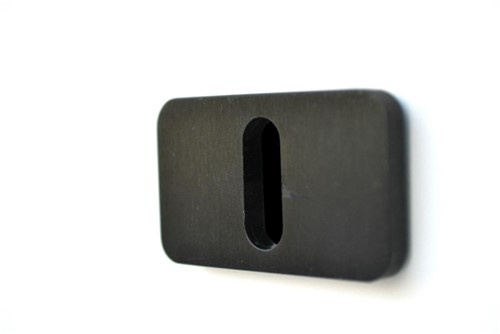 XA-ABB.B baardrozet - zwart