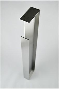 X3738 schuifdeurgreep - 40 mm